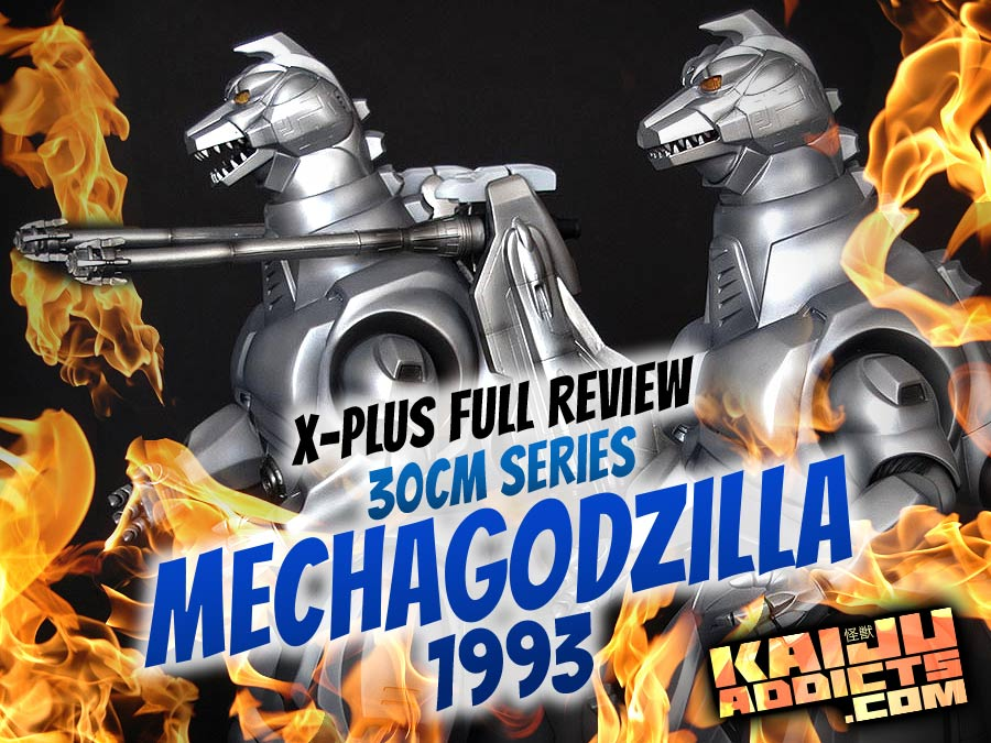 Kaiju Addicts Review: Toho 30cm Series Mechagodzilla 1993 vinyl figure by X-Plus.
