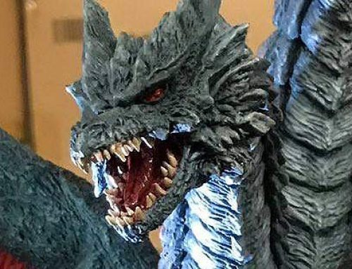 X-Plus Death Ghidorah revealed; GMK Mothra and Baragon get release date