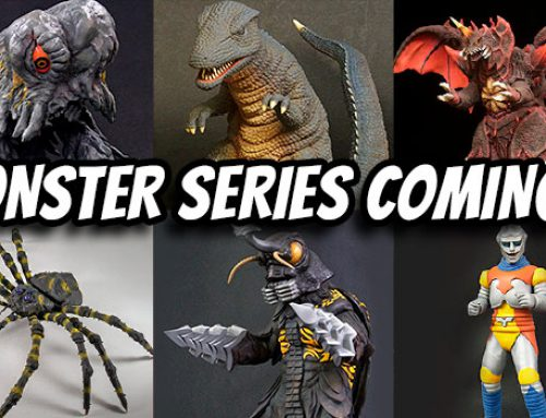 Diamond Gets License for Large Monster Series: Eleven Reissues on the Way!