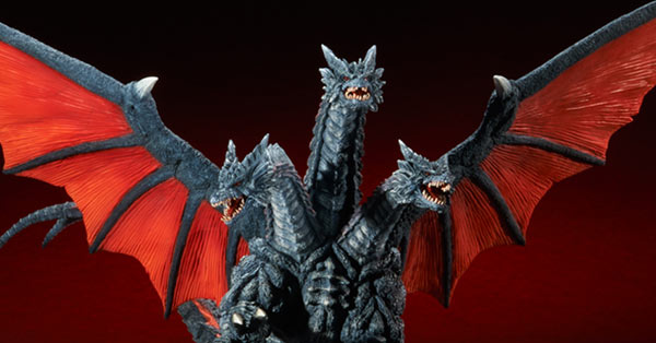 Rich Eso Reviews the Large Monster Series Death Ghidorah Vinyl Figure by X-Plus