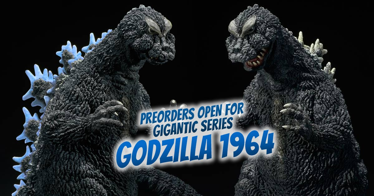 Preorders open for Gigantic Series Godzilla 1962 vinyl figure by X-Plus.