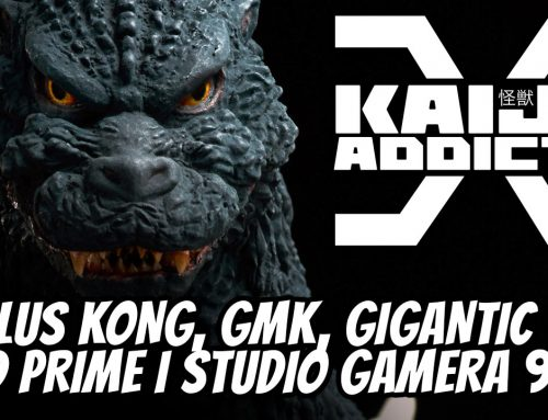 Kaiju Addicts TV Episode 9: Kong, Gigantic Godzilla 1964, New GMK, Prime 1 Studio Gamera 1999 and More