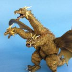 Photo of the X-Plus King Ghidorah vinyl figure by John Parkinson 12