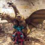 Photo of the X-Plus King Ghidorah vinyl figure by John Parkinson 1.