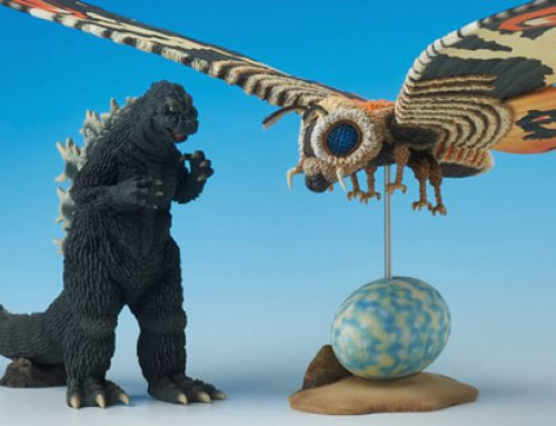 Rich Eso Reviews the X-Plus Godzilla and Mothra 1964 Special Effects Museum Set