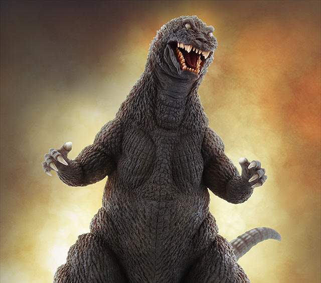 X-Plus Favorite Sculptors Line Large Monster Series Godzilla 2001 vinyl figure.