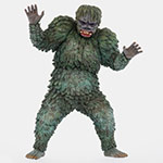 Toho Large Monster Series Gaira vinyl figure by X-Plus.