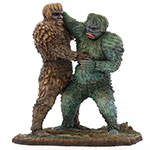 Toho Large Monster Series Sanda vs. Gaira vinyl figure set RIC by X-Plus.