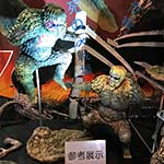 Second Toho Large Monster Series Sanda vs. Gaira vinyl figure set RIC by X-Plus.