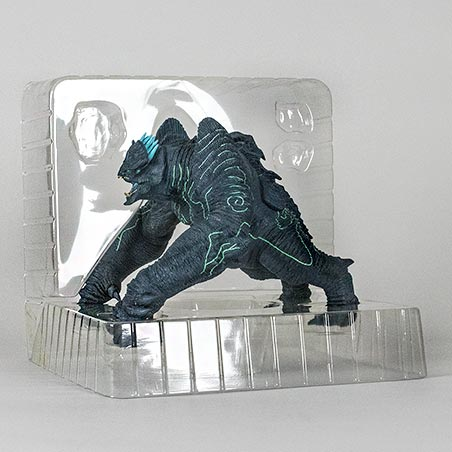 The inner packaging for the X-Plus Leatherback figure.
