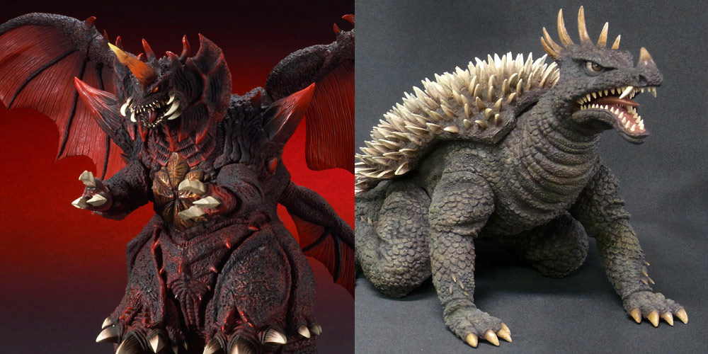 X-Plus Destoroyah and Anguirus 1968 on the way to the U.S.