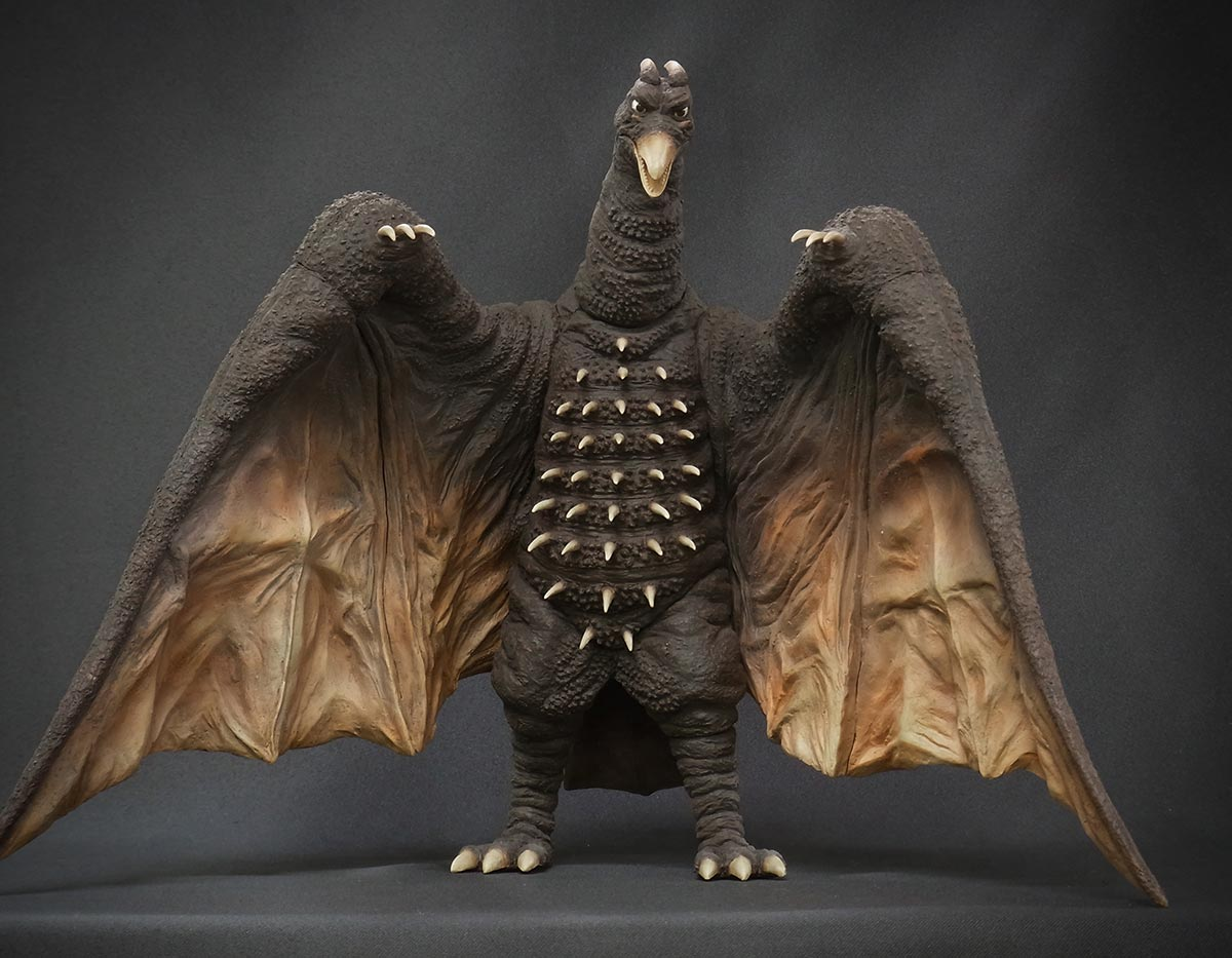 Toho Large Monster Series Rodan 1964 vinyl figure by X-Plus.