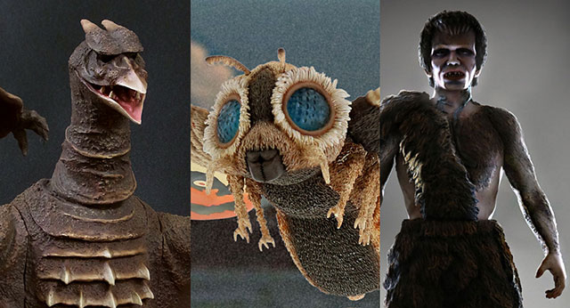X-Plus April Announcements: Rodan 1956, Mothra 1964 and Frankenstein.