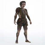 X-Plus Large Monster Series Frankenstein vinyl figure.