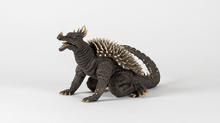 Front Left Angle of X-Plus Large Monster Series Anguirus 1968.
