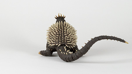 Rear Angle of X-Plus Large Monster Series Anguirus 1968.
