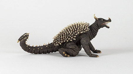 Right Angle of X-Plus Large Monster Series Anguirus 1968.