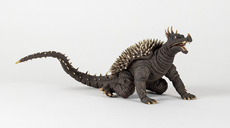 Front Right Angle of X-Plus Large Monster Series Anguirus 1968.