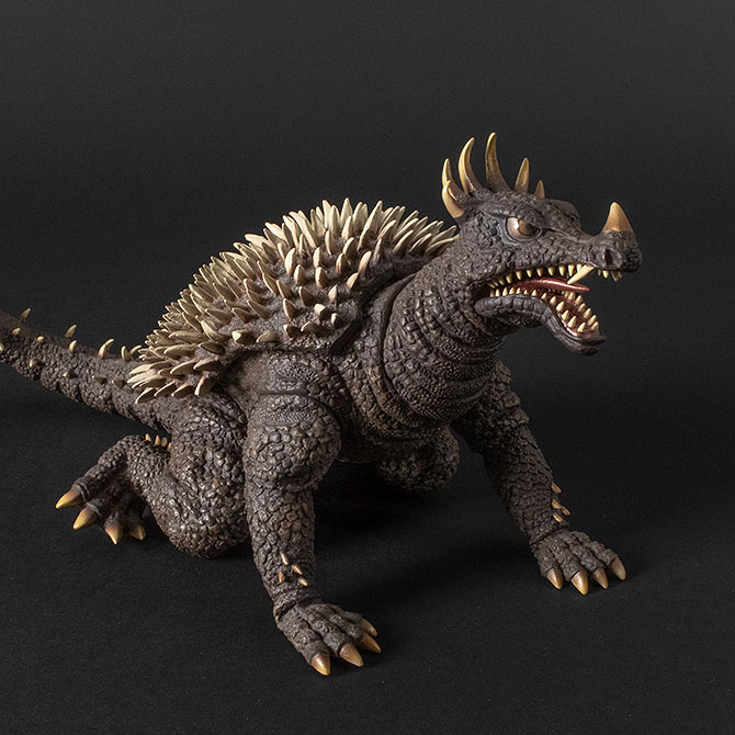 Toho Large Monster Series Anguirus 1968 vinyl figure by X-Plus.