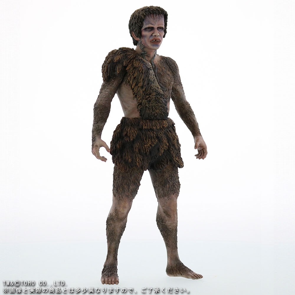 X-Plus Large Monster Series Frankenstein vinyl figure - front right angle.