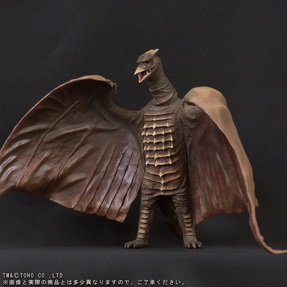 X-Plus Large Monster Series Rodan 1956 vinyl figure - Angled view.