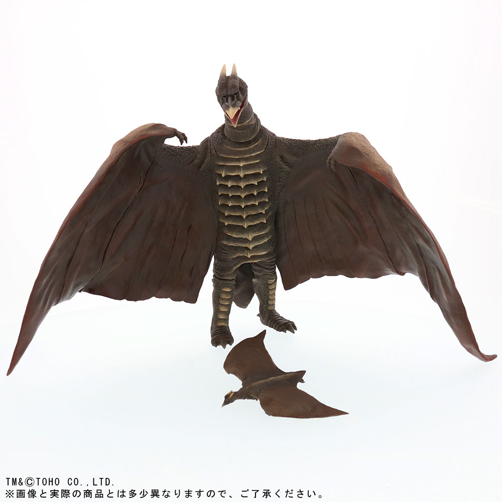 X-Plus Large Monster Series Rodan 1956 vinyl figure RIC Exclusive with Mini Flying Rodan.