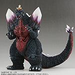 Toho Large Monster Series Space Godzilla vinyl figure by X-Plus.
