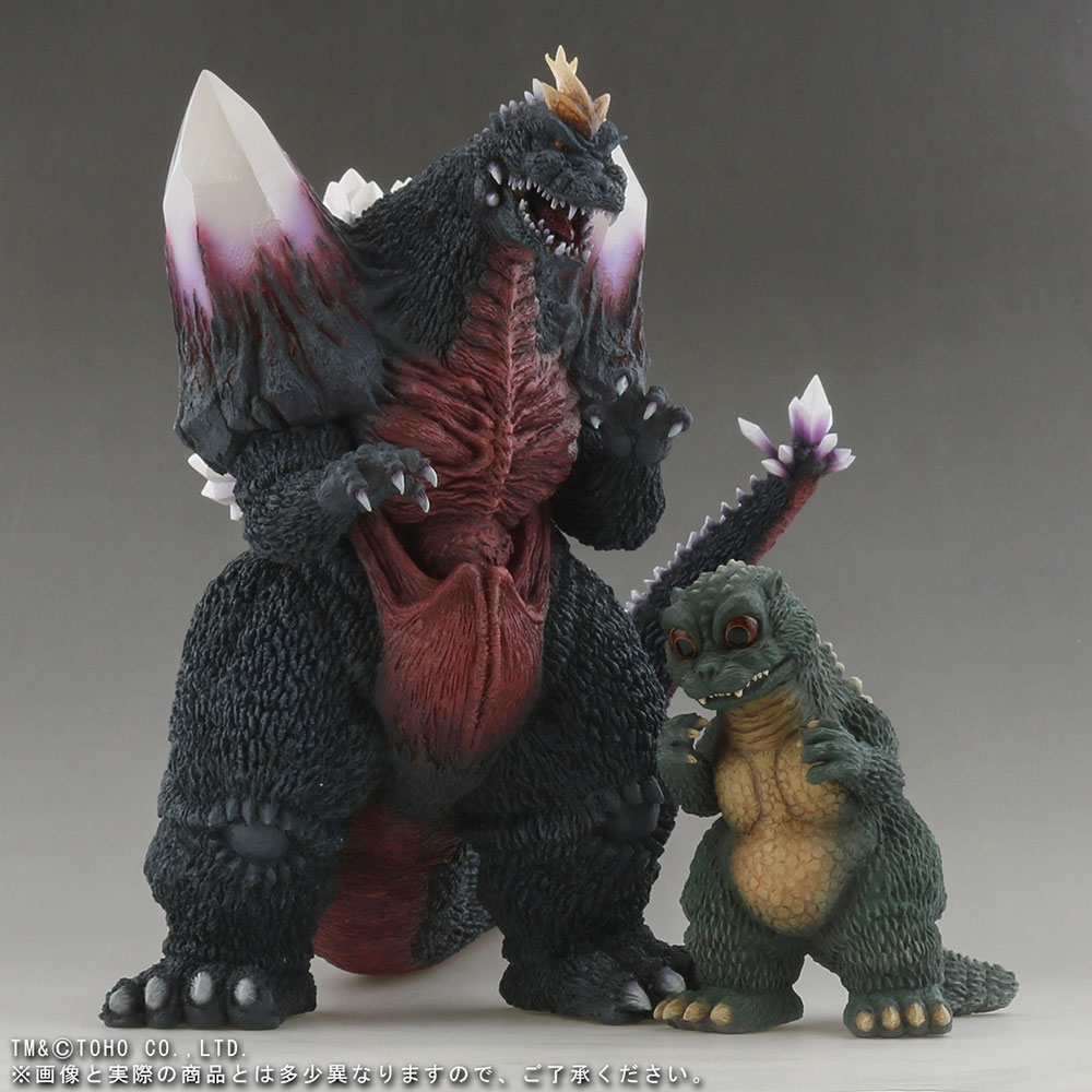 Video Review: Large Monster Series Space Godzilla and Little Godzilla