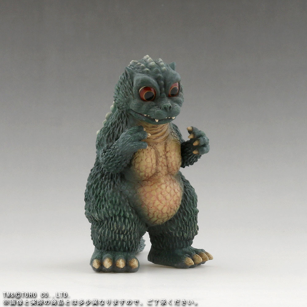 X-Plus Large Monster Series Space Godzilla RIC Exclusive Little Godzilla - forward right view.