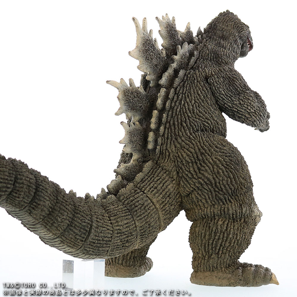 X-Plus 30cm Series Favorite Sculptors Line Godzilla 1962 - rear right view.