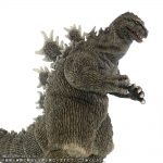 X-Plus 30cm Series Favorite Sculptors Line Godzilla 1962 - right side close-up.