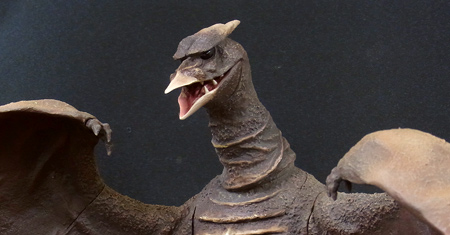 Rich Eso Reviews the Large Monster Series Rodan 1956 by X-Plus