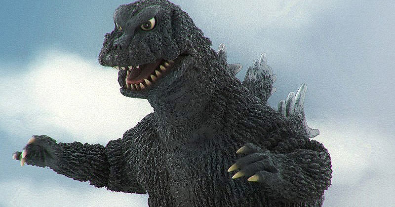 Toho Large Monster Series Godzilla 1965 vinyl figure by X-Plus.