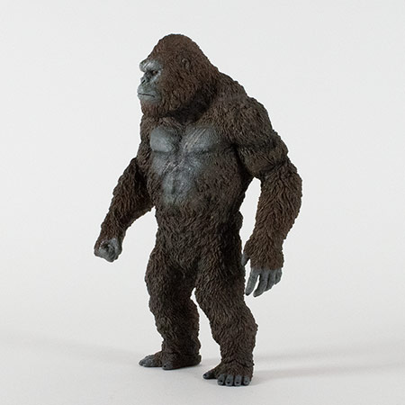 Front left view of the Star Ace Kong Skull Island vinyl statue.