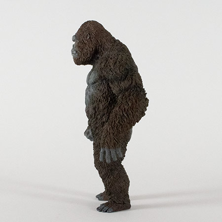 Left side view of the Star Ace Kong Skull Island vinyl statue.