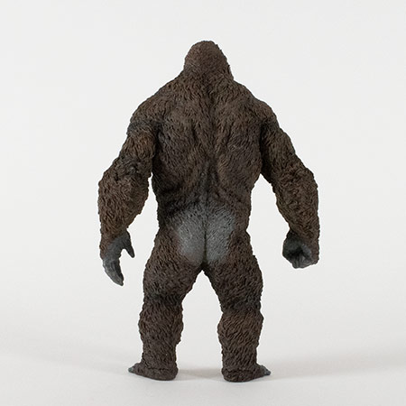 Rear view of the Star Ace Kong Skull Island vinyl statue.