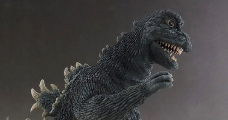 X-Plus 30cm Series Godzilla 1967 vinyl figure.