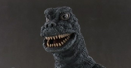 Leslie Chambers Reviews the 30cm Godzilla 1967 vinyl figure by X-Plus