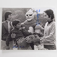 Tsugutoshi Komada as Jet Jaguar - Autographed 'The Team' Photo - December 2018, New York