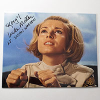 Linda Miller as Lt. Susan Watson on Sub - Autographed 'King Kong Escapes' Photo - October 2018, Mars, PA