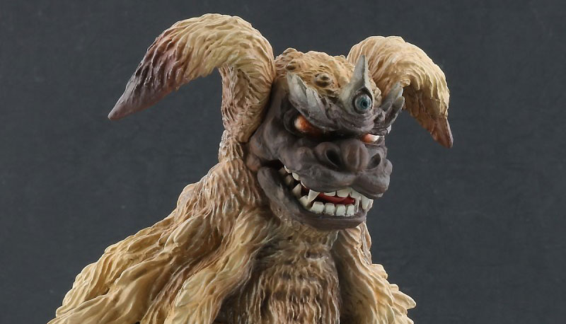 Toho Large Monster Series King Caesar Lighting Version vinyl figure by X-Plus. (2019 Release).