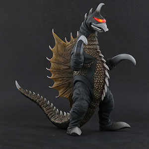 Toho Large Monster Series Gigan (1972) Nighttime Version vinyl figure by X-Plus.