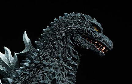 Gojira851 Reviews the new X-Plus Godzilla 2002 vinyl figure