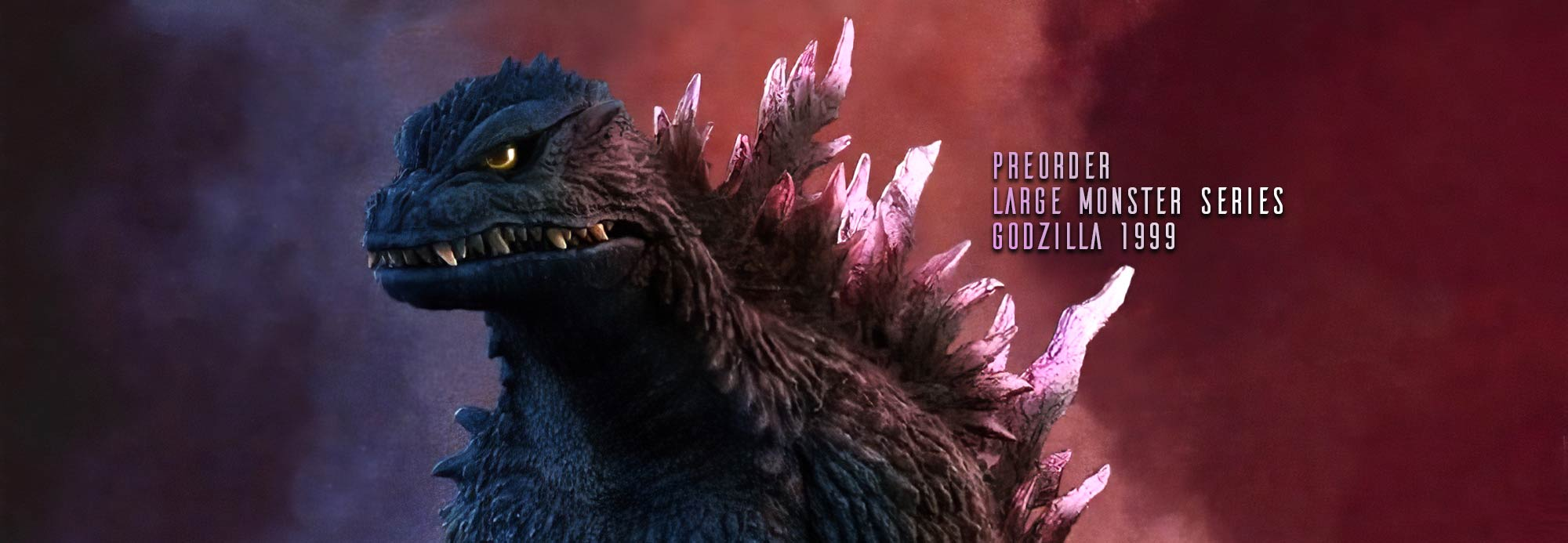 Preorders open for X-Plus Large Monster Series Godzilla 1999