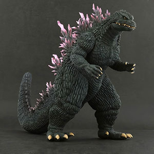 X-Plus Large Monster Series Godzilla 1999 vinyl figure.
