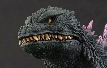 Rich Eso Reviews the 25cm Godzilla 1999 vinyl figure