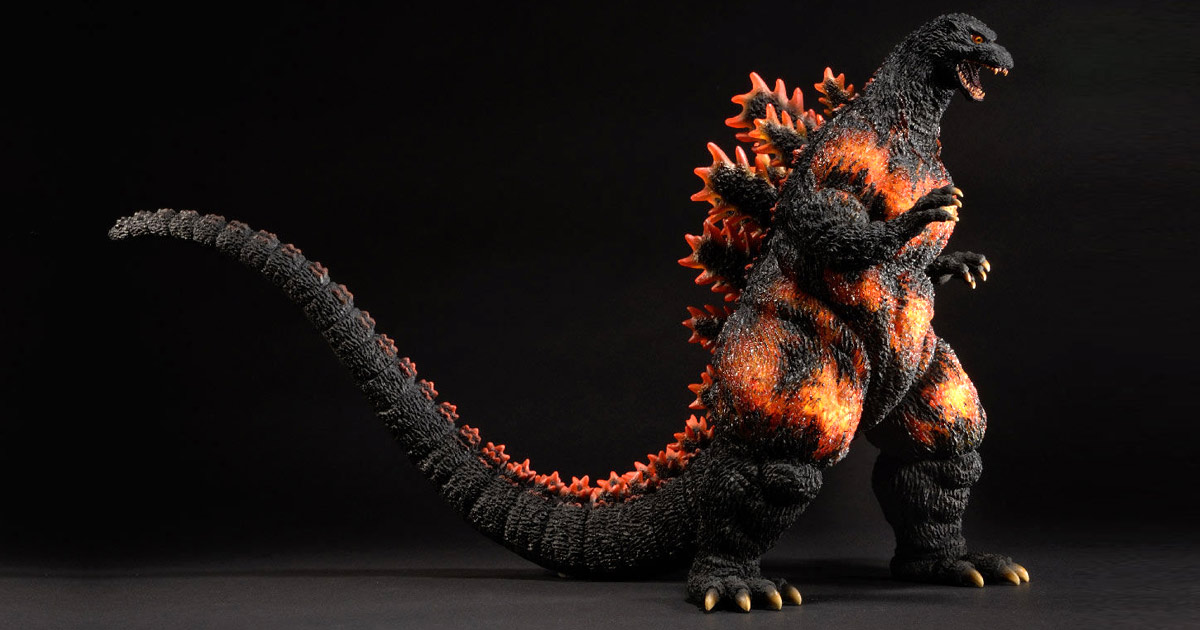30cm Series Yuji Sakai Modeling Collection Godzilla 1995 vinyl figure by X-Plus.