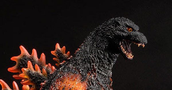 Diego Doom Reviews the 30cm Series Yuji Sakai Godzilla 1995 Standard vinyl by X-Plus