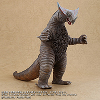 X-Plus Large Monster Series Gomora vinyl figure.