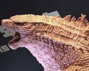 Prototype of the Gigantic Series Godzilla 2019 by X-Plus.